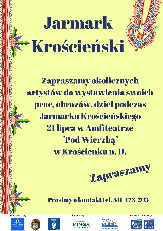 Jarmark Krościeński - zapraszamy wystawców