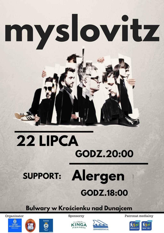 Myslovitz - Zapraszamy na koncert Krościenko 22.07.2018