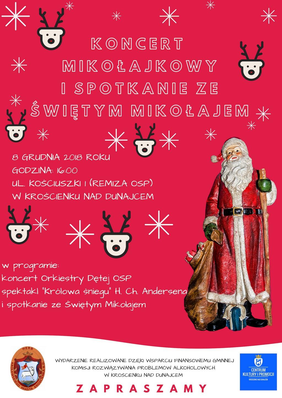 Mikołaj zaprasza do Krościenka