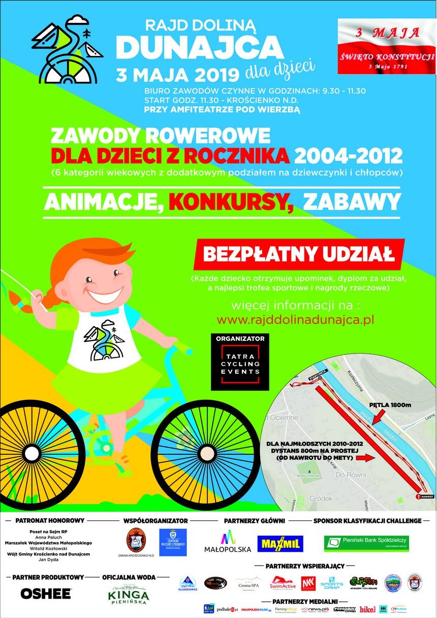 Zawody rowerowe dla dzieci