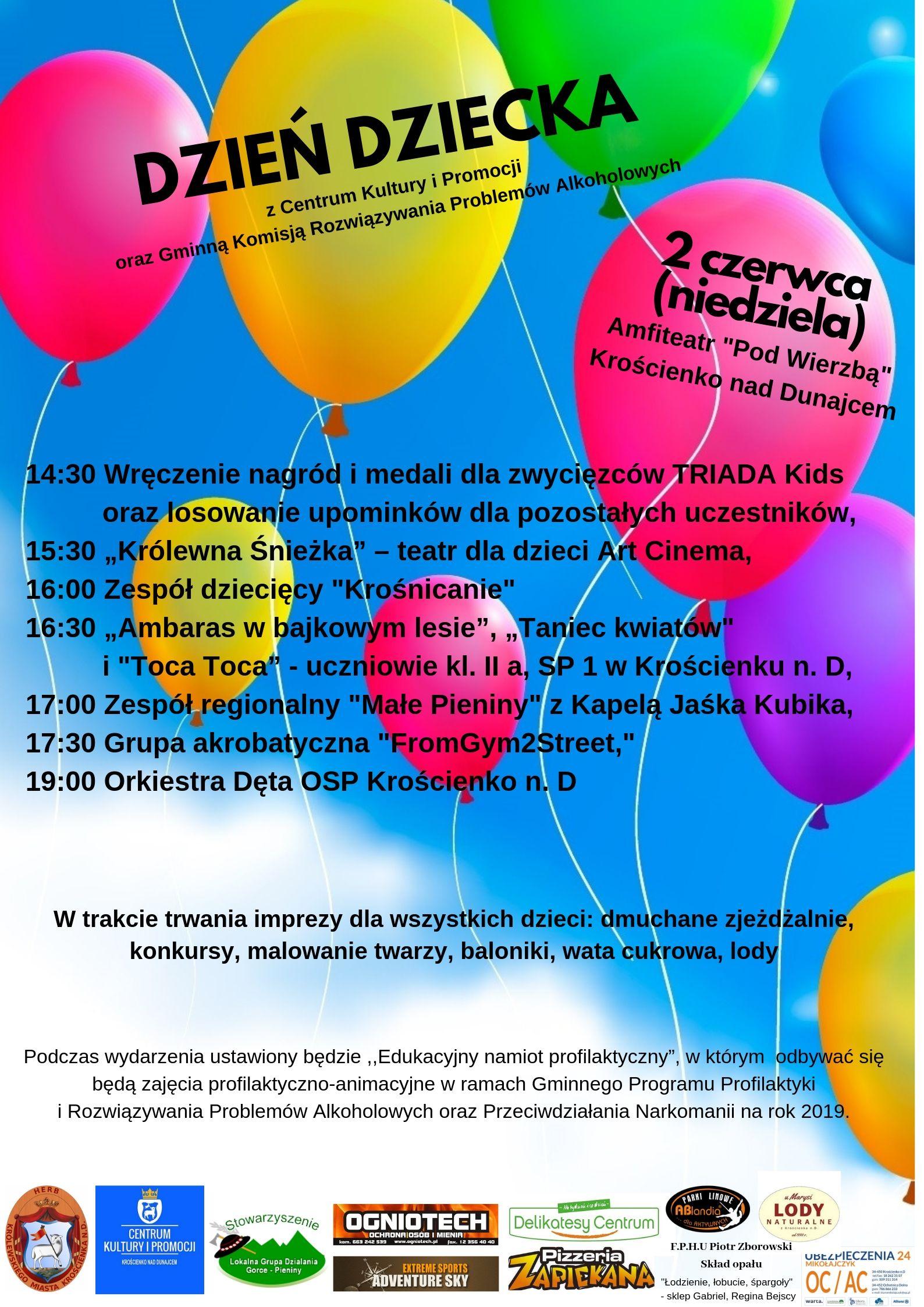 Dzień Dziecka - zapraszamy dzieci do wspólnej zabawy