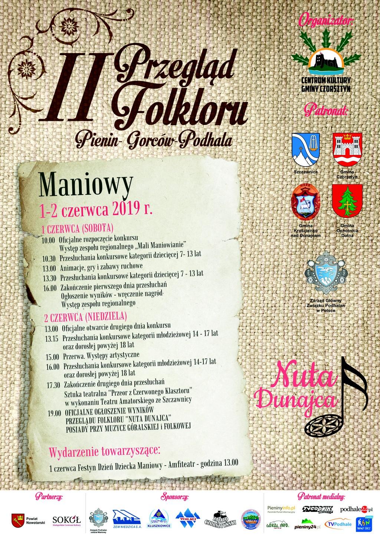II Przegląd Folkloru Pienin - Gorców - Podhala