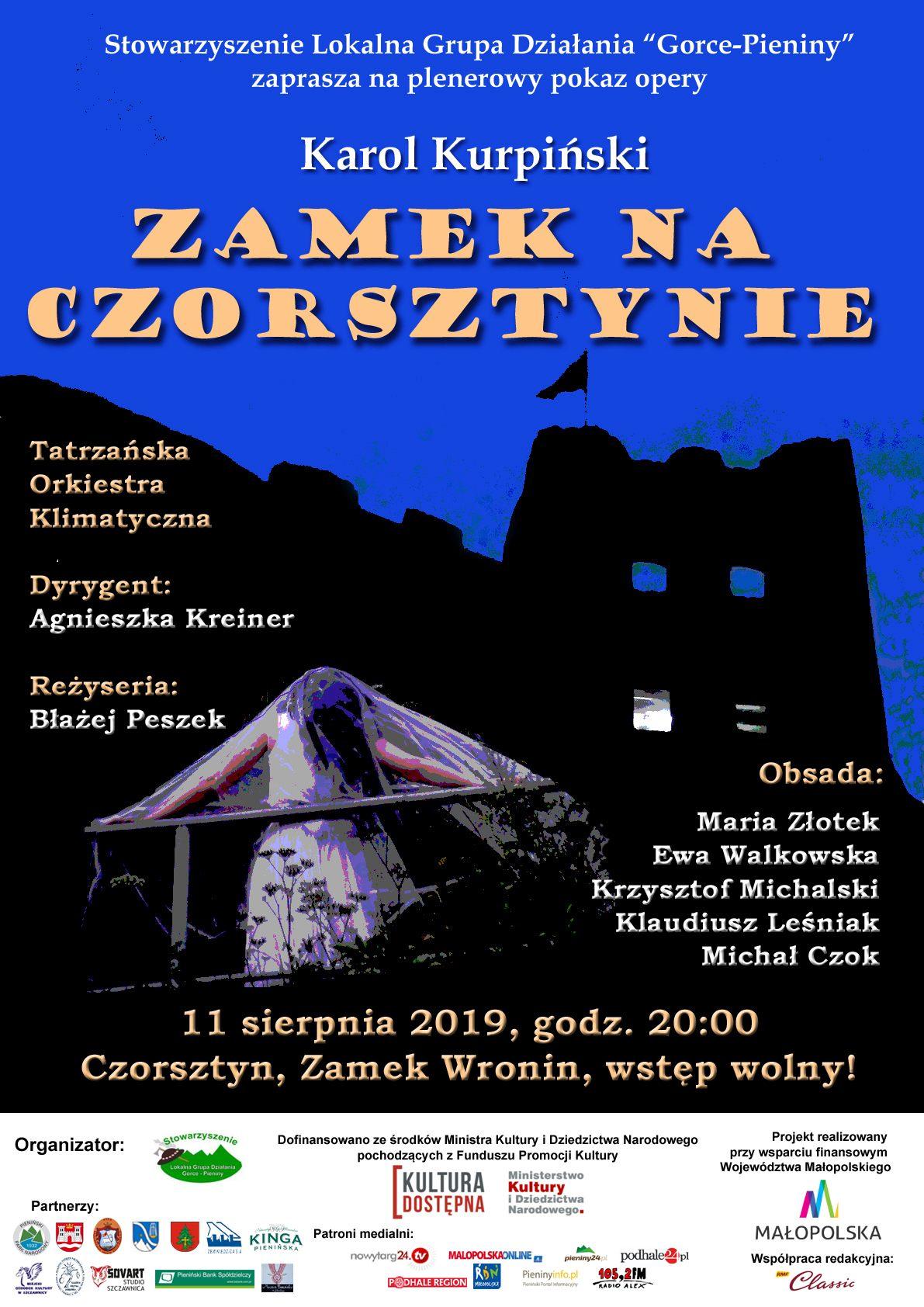 Zamek na Czorsztynie