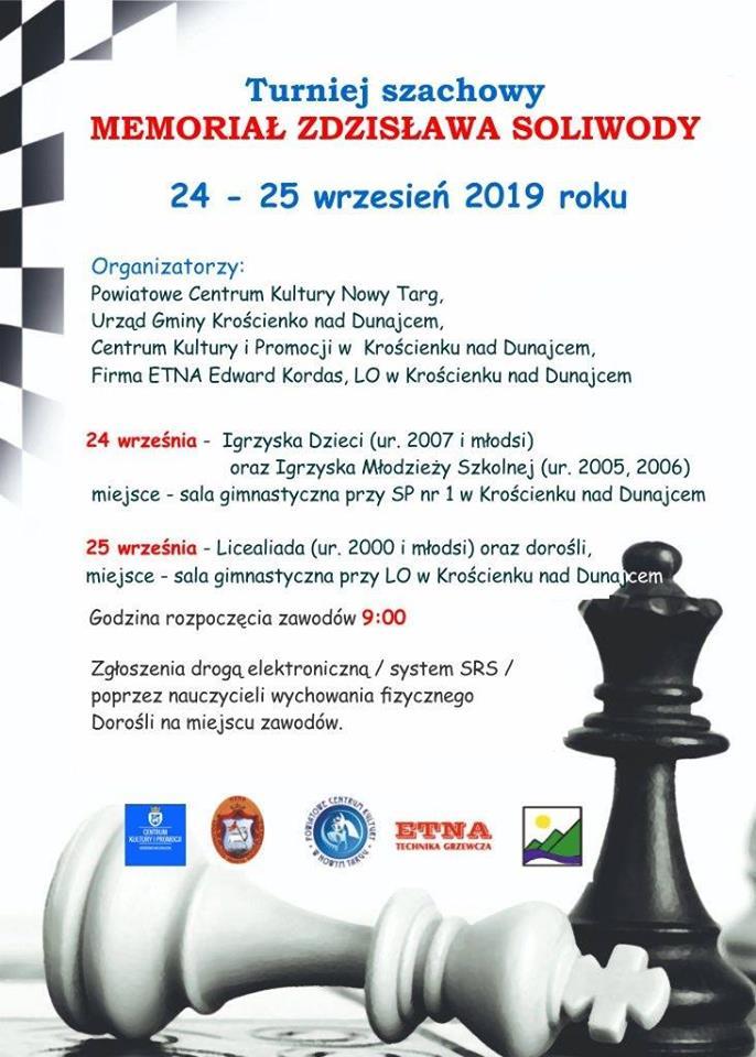 Turniej Szachowy - Zapraszamy