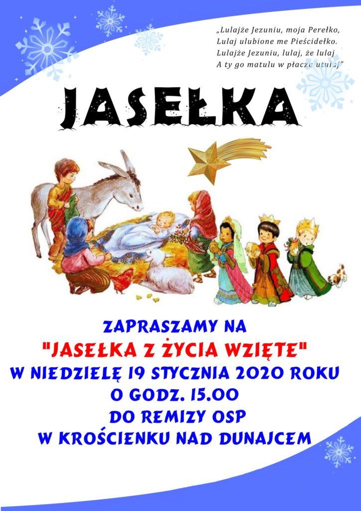 Jasełka - zapraszamy