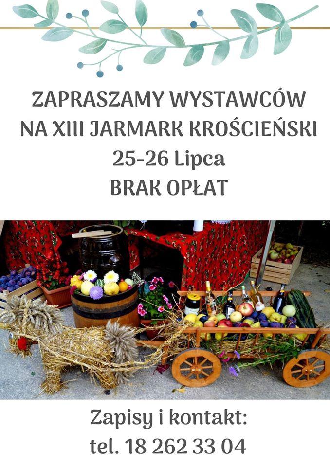 Zapraszamy wystawców na XIII Jarmark Krościeński