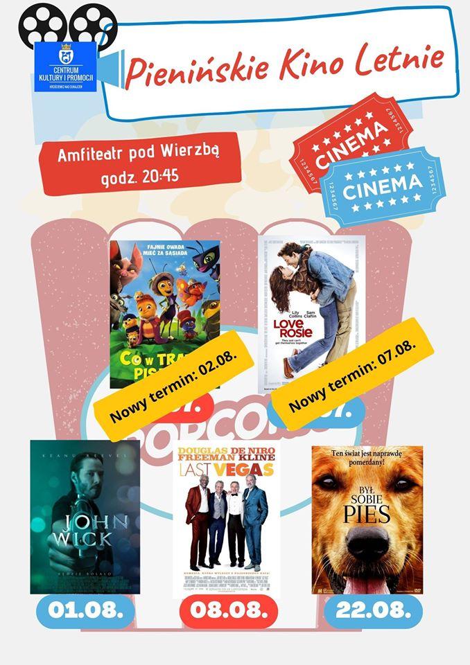 Kino letnie -zapraszamy