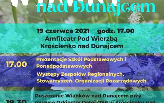 Wianki na Dunajcu - Zapraszamy