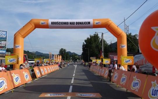 Premia lotna Tour de Pologne - Krościenko - relacja