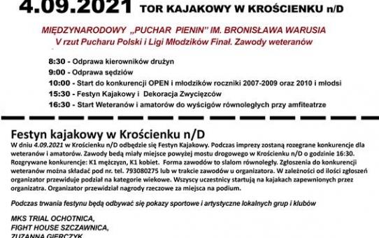 """Puchar Pienin"" im. Bronisława Wariusia"