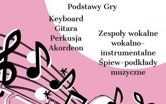 Warsztaty muzyczne - zapisy